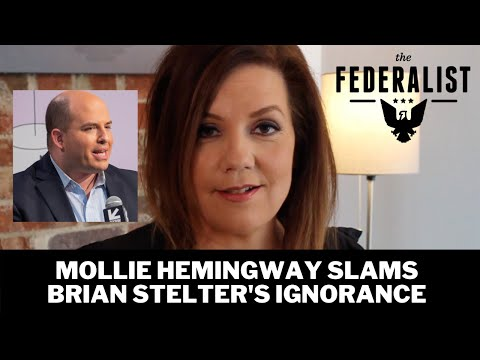 Mollie Hemingway Reacts To Brian Stelter's 'Embarrassing' Ignorance Of Steele Dossier