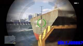 GTA 5: Niko Bellic Visits His Cargo Ship!