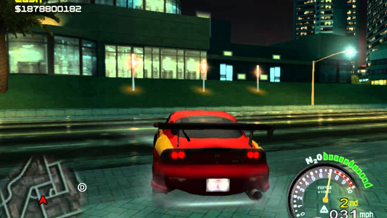 SRS (street racing Syndicate) RX7 - YouTube