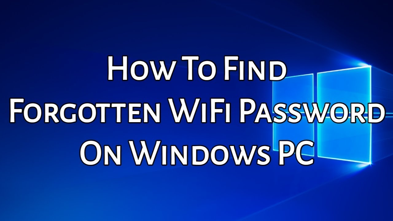 How To Find WiFi Password When You Forgot It (WORKING -2019)