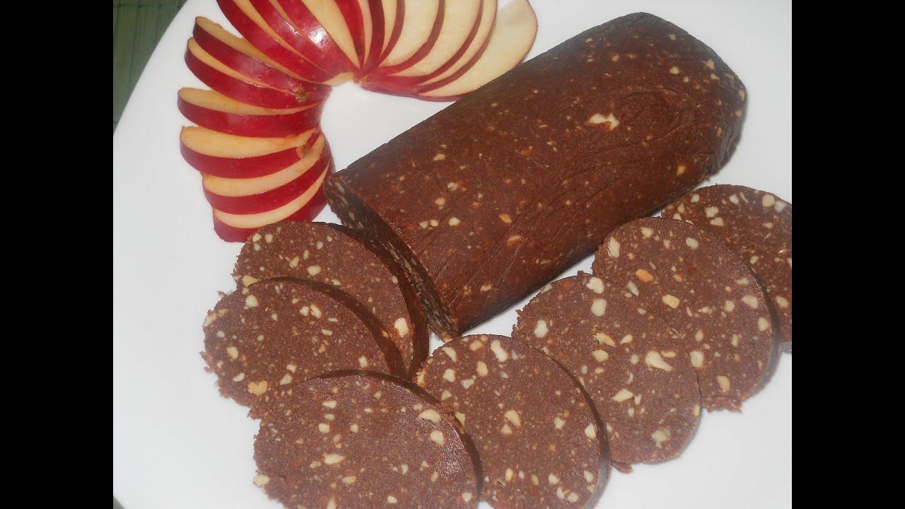 Самая вкусная шоколадная колбаска