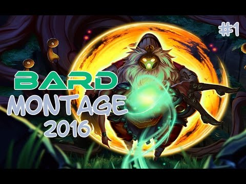 Bard Montage 2016 #1 | Epic Bard Plays | League of Legends