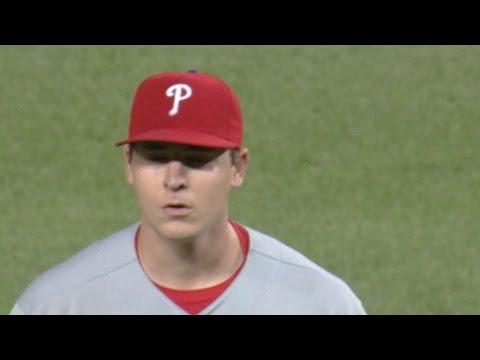Phillies assign Jerad Eickhoff to Lehigh Valley, Velasquez on a short leash