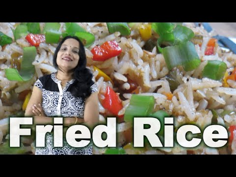Fried rice in hindi with english subs how to make veg fried rice fried rice in hindi with english subs how to make veg fried rice youtube ccuart Images