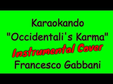 Karaoke Italiano - Occidentali's Karma - Francesco Gabbani ( Testo )