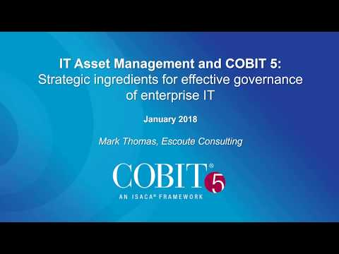 Webinar promo: IT Asset Management and COBIT® 5