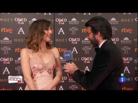 Natalia de Molina en los Premios Goya 2017