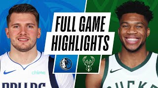Game Recap: Bucks 112, Mavericks 109
