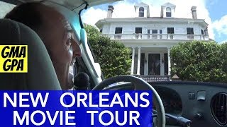 The Original New Orleans Movie & TV Tours: NCIS New Orleans, Terminator, King Creole, Star's Homes