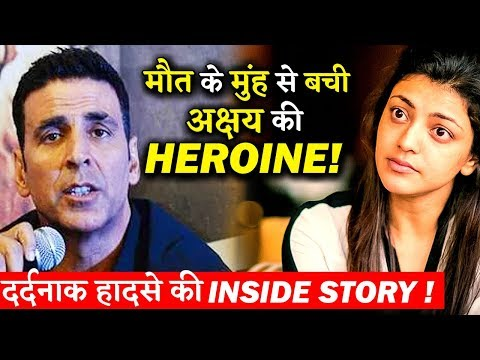 Akshay Kumar's Co-Actress Kajal Aggarwal Had A Narrow Escape From Indian 2 Set Accident