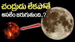 చంద్రుడు లేకపోతే అసలేం జరుగుతుంది || What Would Happen If There Were No Moon..? || SumanTV