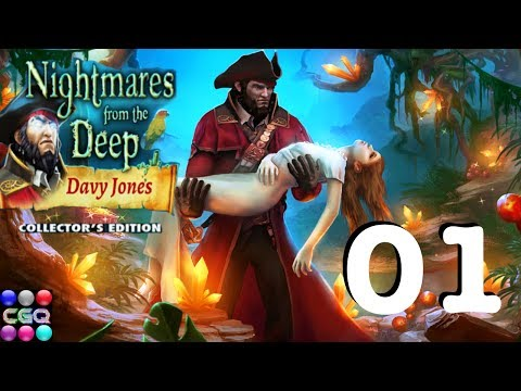 Nightmares From the Deep: Davy Jones CE Part 1 Walkthrough with Commentary HD 1080