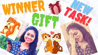 Q & A Winner | Squirrel | New Task | Meghnaz StudioBox | Meghna Vincent