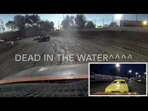Mini stock main event Bakersfield Speedway 7/9/16