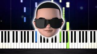 Daddy Yankee Snow Con Calma - Piano Tutorial by PlutaX.mp3