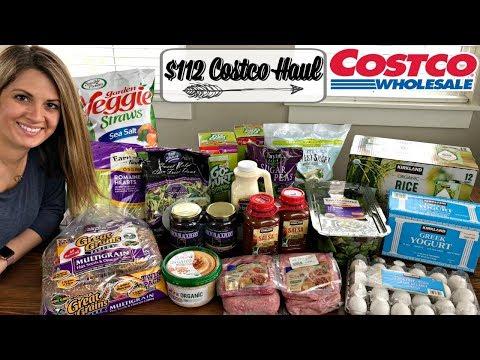 $112 COSTCO HAUL :: FAMILY OF 5 :: APRIL 2018