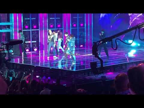 BTS- Fake Love Live | Billboard Music Awards 2018 | Fancam