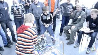 Республиканский Чемпионат по робототехнике среди школьников и студентов 2013 Уфа