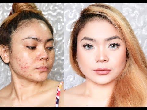 Makeup tanpa Foundation | Makeup buat harian | acne prone skin | BAHASA | SADDY AULIA