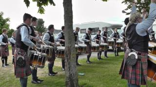 Ards 2014 - Cullybackey Pipe Band Drum Corps - MSR