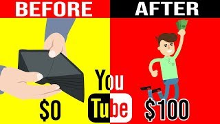 Earn $100 A Day On YouTube WITHOUT Making ANY Videos!