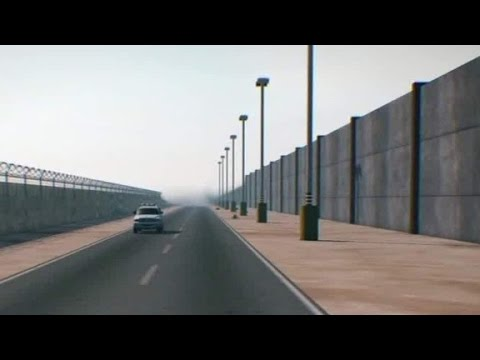 What Trump S Border Wall Could Look Like Youtube