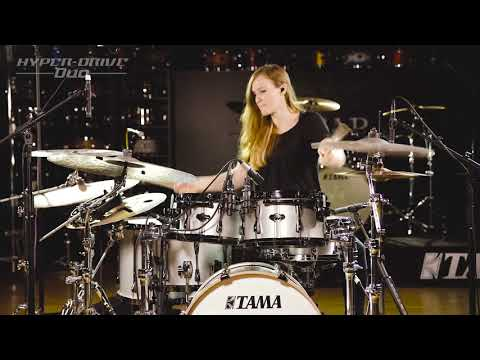 TAMA Hyper-Drive Duo -Anika Nilles