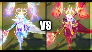 Dawnbringer Soraka vs Nightbringer Soraka Legendary Skins Comparison (League of Legends)