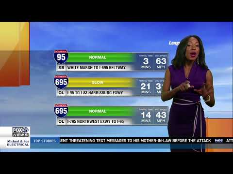 Chardelle Moore FOX45 Traffic Reporter