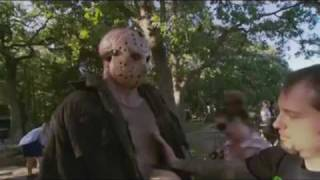 Friday the 13th (2009) Behind the Scenes B-roll Footage w/ soundtrack Part 1