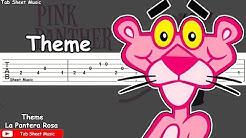 The Pink Panther (La Pantera Rosa) - Theme Guitar Tutorial