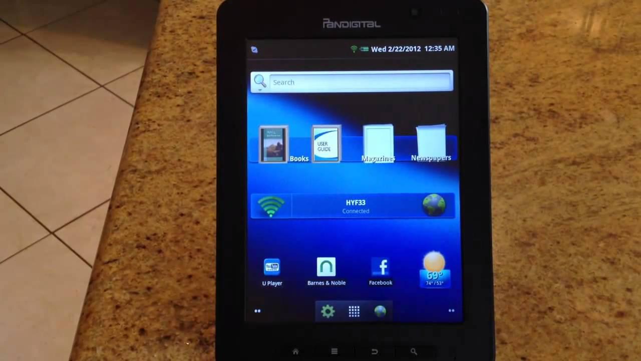 pandigital supernova 8 inch android tablet review youtube rh youtube com Pandigital 7 Tablet Review Software for Pandigital Reader