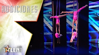 'Air MDD' fly on the stage! | Auditions 6 | Spain's Got Talent 2017