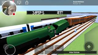 train wrecks in roblox!//Trains (Classic)// ETAG