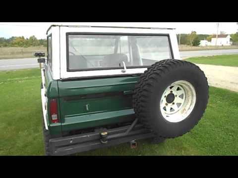 Pictures Of Ford Broncos - 1972 Ford Bronco For Sale