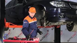 BMW 7 SERIES Ašies montavimas keitimas: instrukcija