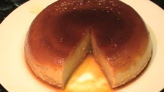FLAN  CON GALLETAS EN 14 MINUTOS