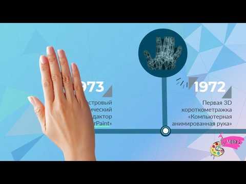 История развития компьютерной графики
