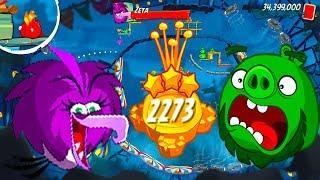 angry Birds 2 Unlock LEVEL 2267–2273 BOSS LEVEL ZETA(NEW HERO LEONARD) – Pig City Vietham