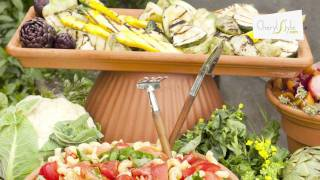 How to create a beautiful buffet display using elevation