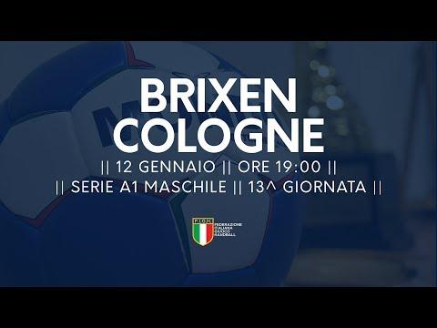 Serie A1M [13^]: Brixen - Cologne 33-24