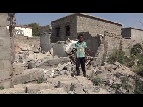 Yemen | Houthis bombard buildings and lay mines to block government forces