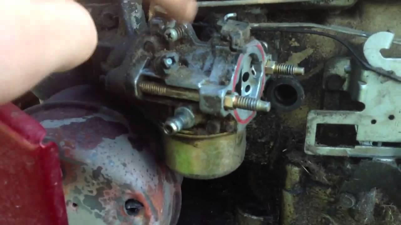 Murray Mower Carburetor  YouTube