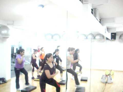 Martha Romero en Gym Fitness Barranco