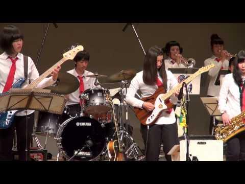 The Chicken (Alfred James Ellis) / BFJO 2015 jr band at Student Jazz Live