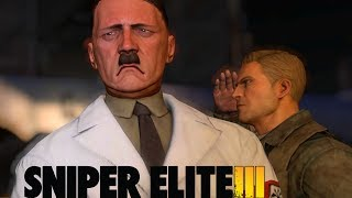 Sniper Elite 3 - Tiro nas Bolas do Hitler