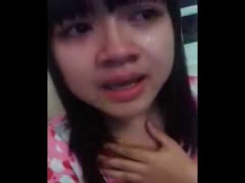 Cảm động Em gái lớp 9 hát tặng người yêu trong nước mắt