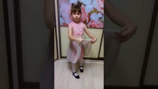 Видео обзор платья для девочки от Фаберлик арт.157G4120  цвет розовый