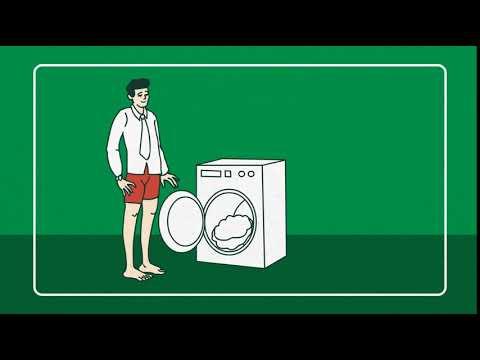 Dobře nastavený život je základ - pračka