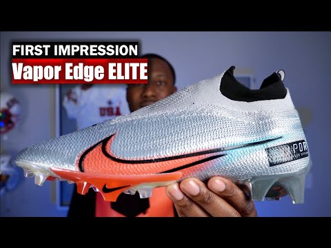 Nike Vapor Edge 360 ELITE Football Cleats: First Impression